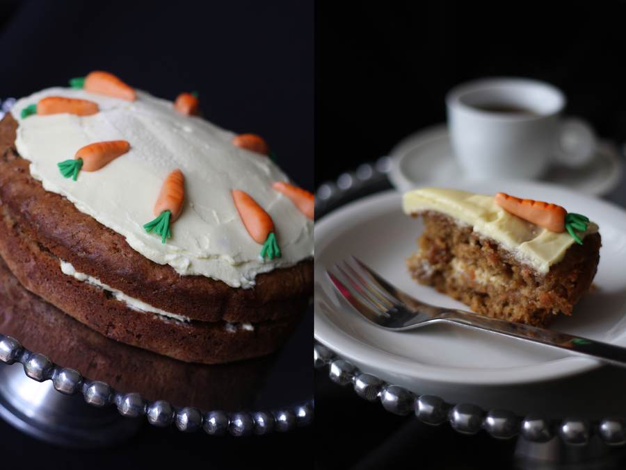 Cup Of Coffee And A Slice Of Carrot Cake on Cake Central