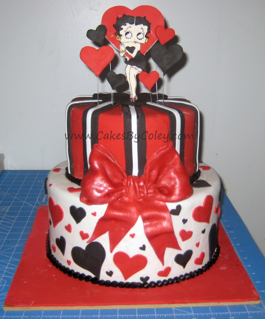 Betty Boop Cake Cakecentral Com