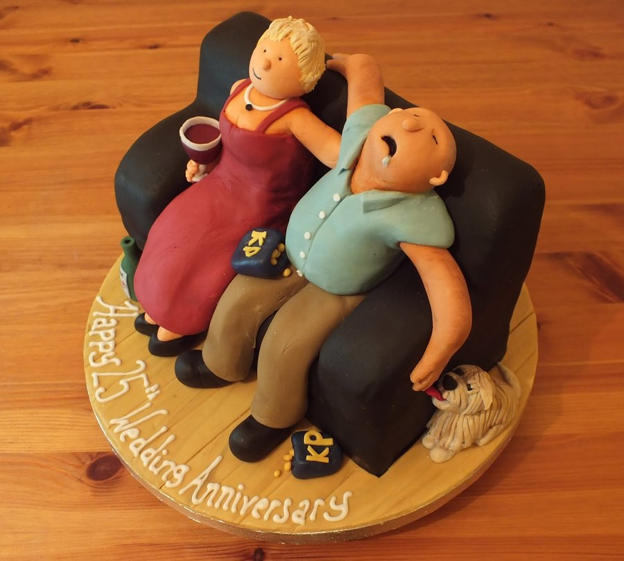 25 Years Married on Cake Central