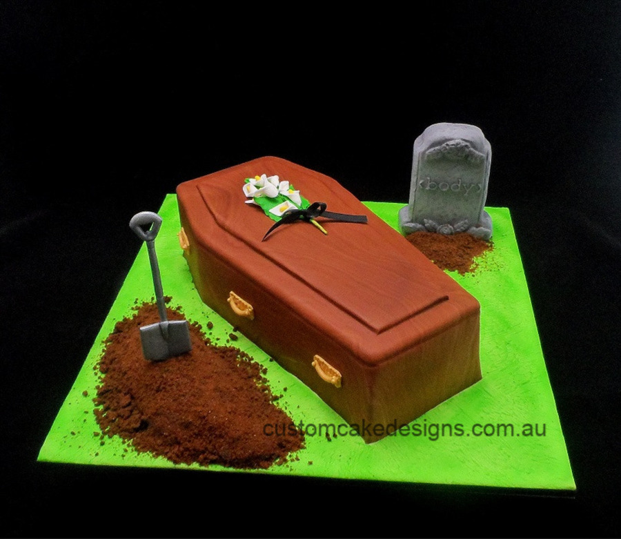 Coffin Casket Cake Cakecentral Com