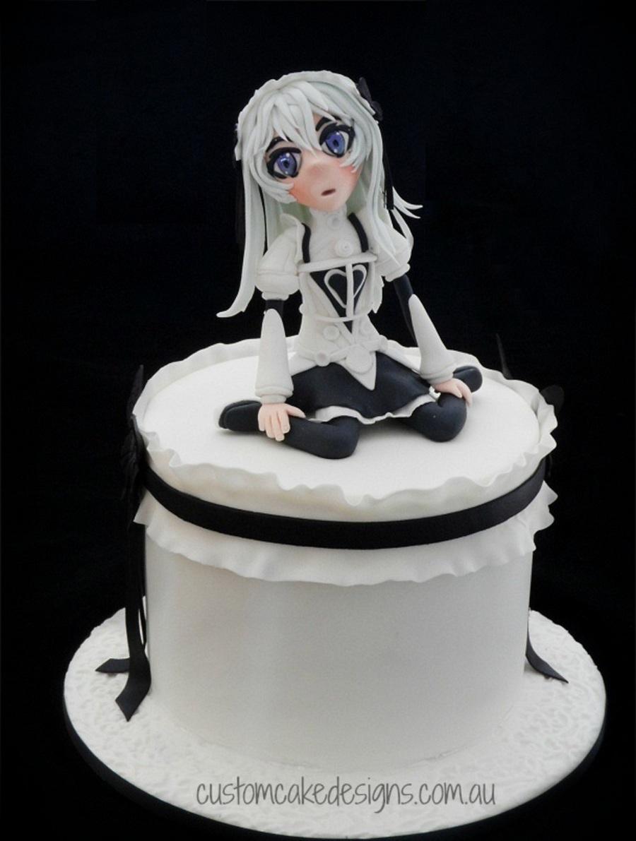 Japanese Anime Chaika Cake Cakecentral Com
