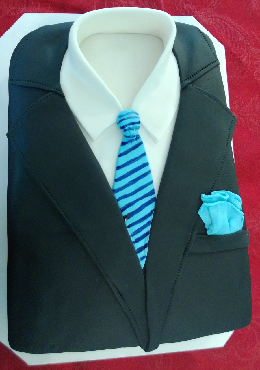 Business Suit Cake Cakecentral Com