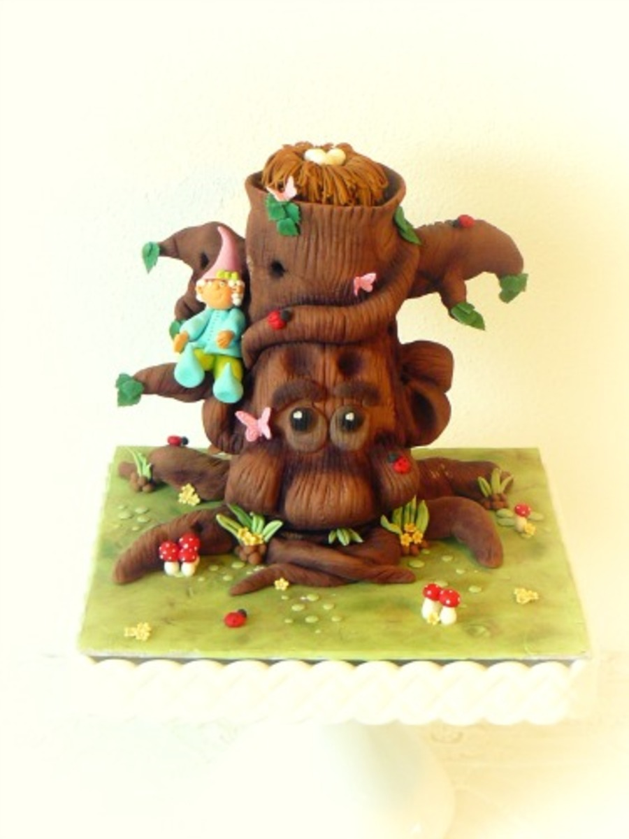 Fairy Tree on Cake Central