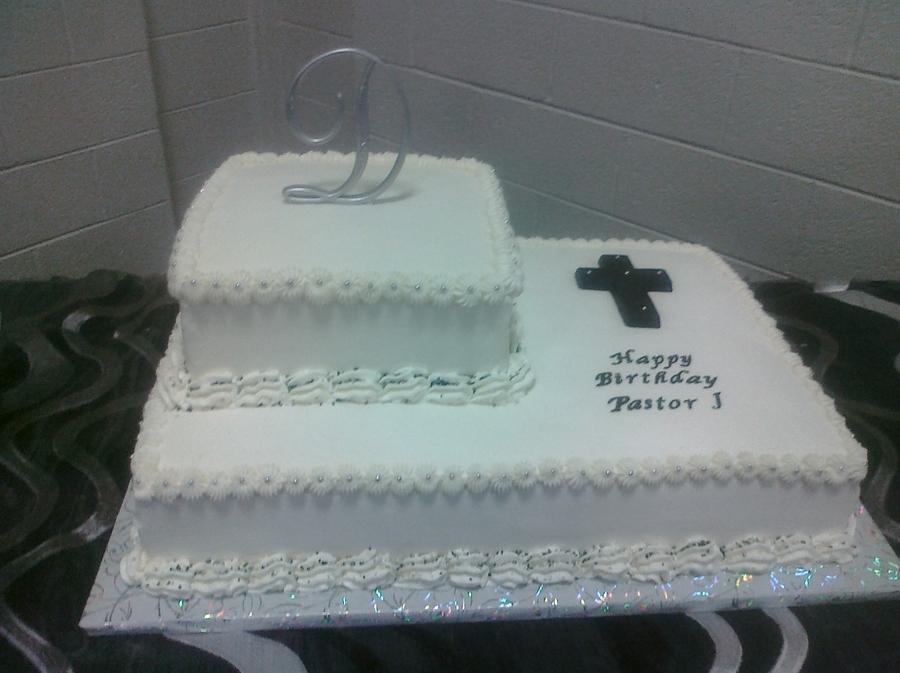 Pastors Birthday Cake Cakecentral