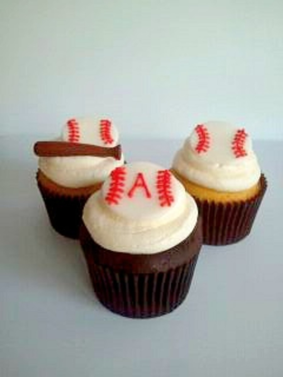 Baseball Cupcakes on Cake Central