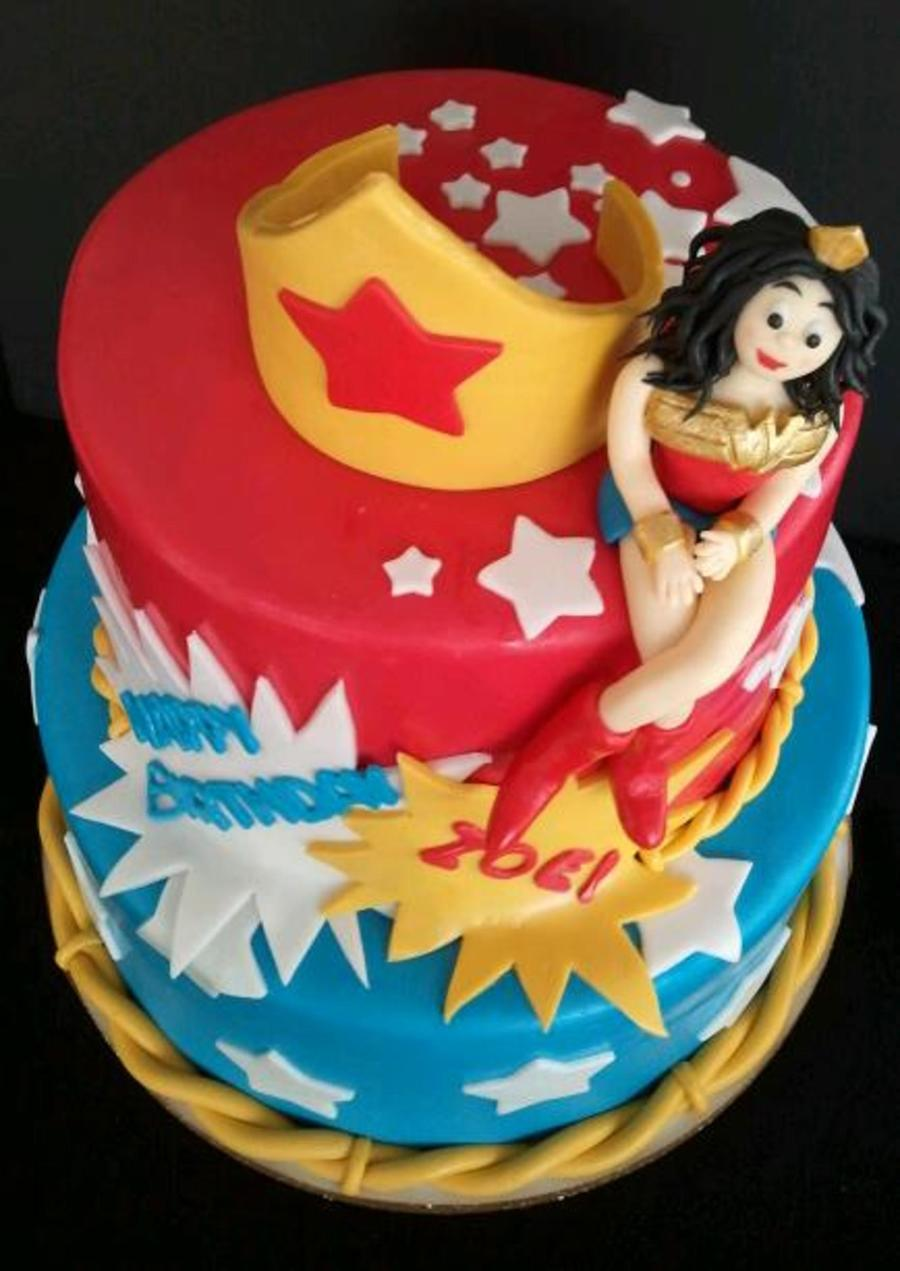wonder woman birthday cake cake cakecentral 1474