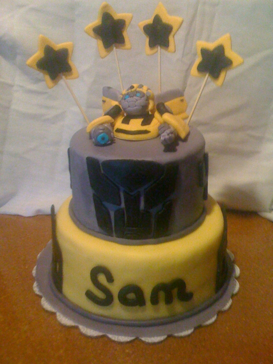 Bumblebee - Transformers on Cake Central