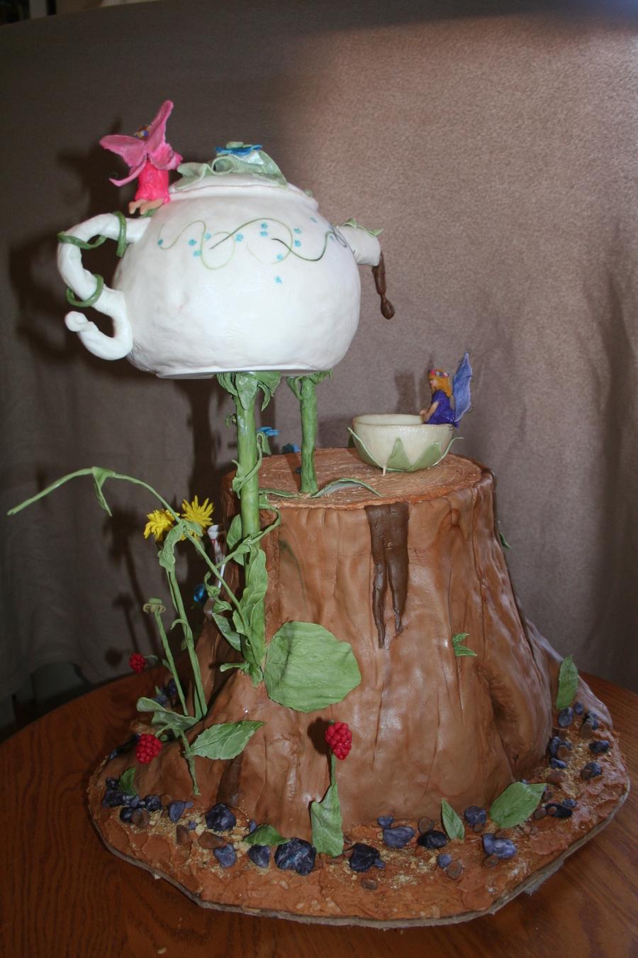 Fairy Tea Party Cakecentral Com