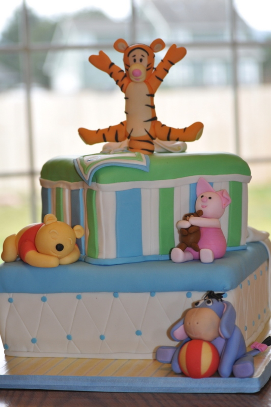 Winnie The Pooh Baby Shower Decorations For A Girl