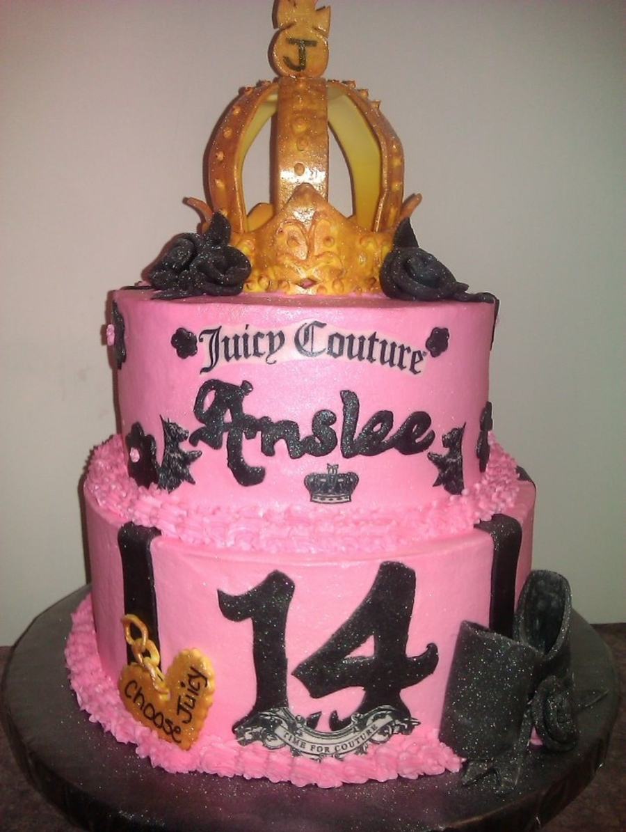Juicy Couture Cake on Cake Central