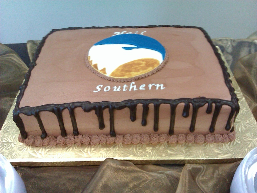 Georgia Southern Grooms Cake on Cake Central