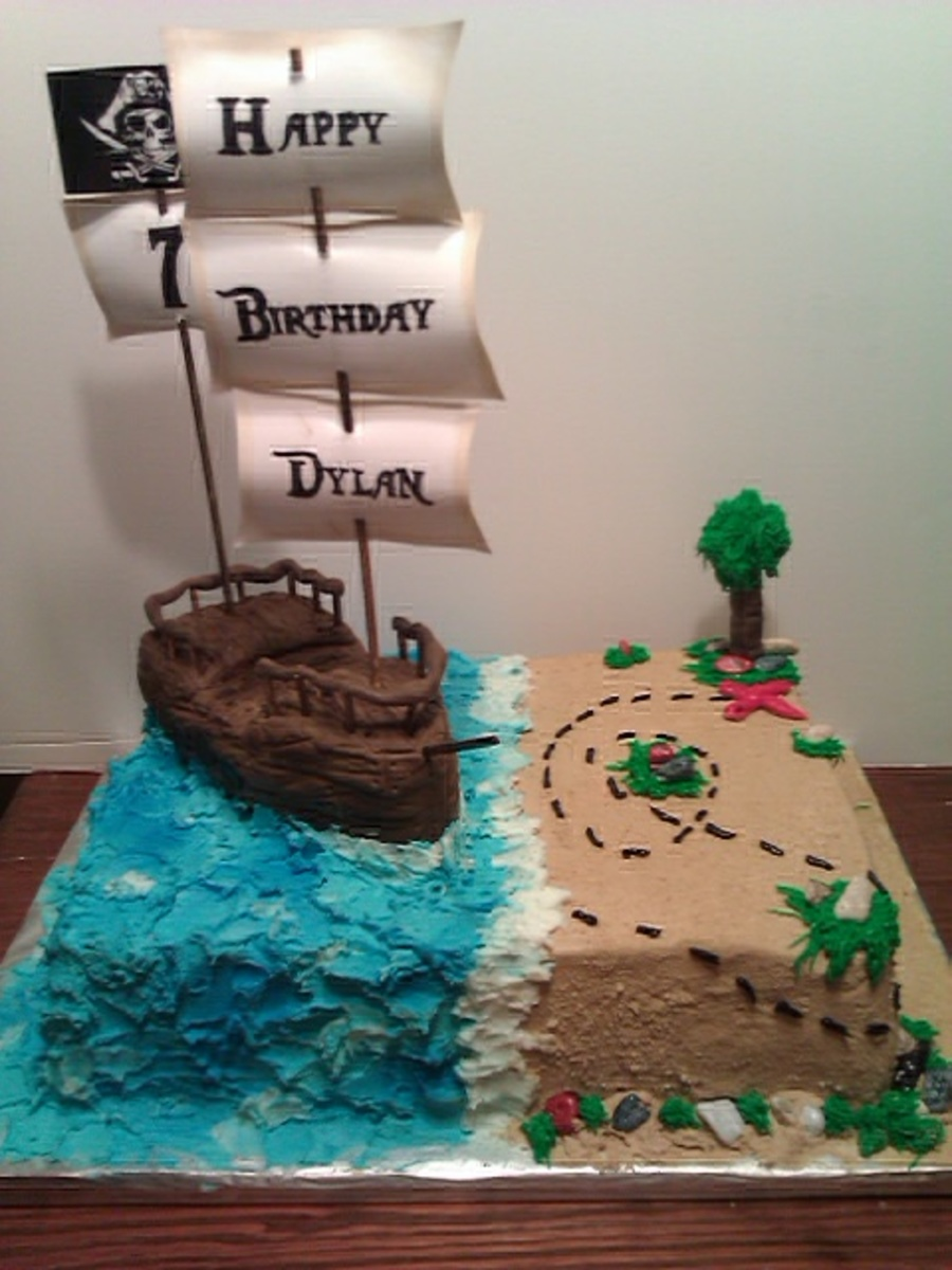 Pirates Ship  on Cake Central