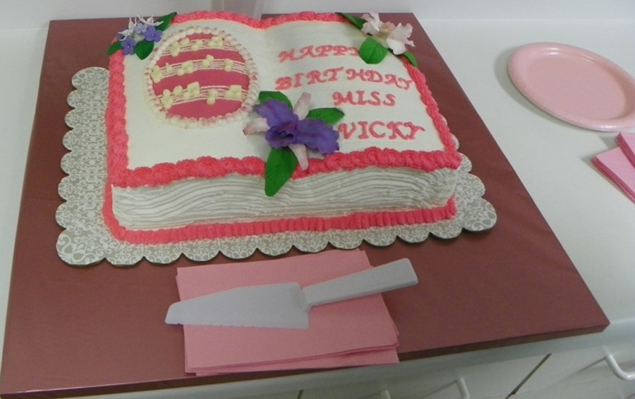 Pink Music on Cake Central