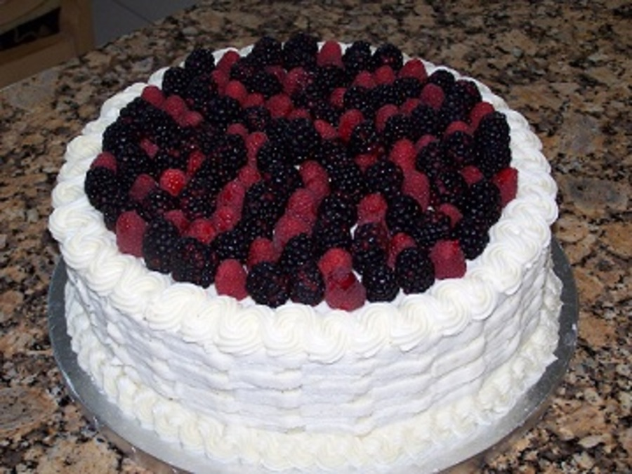 Basket Of Berries on Cake Central