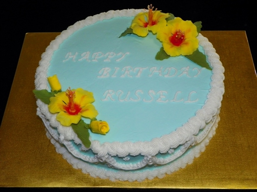 Hibiscus Birthday on Cake Central