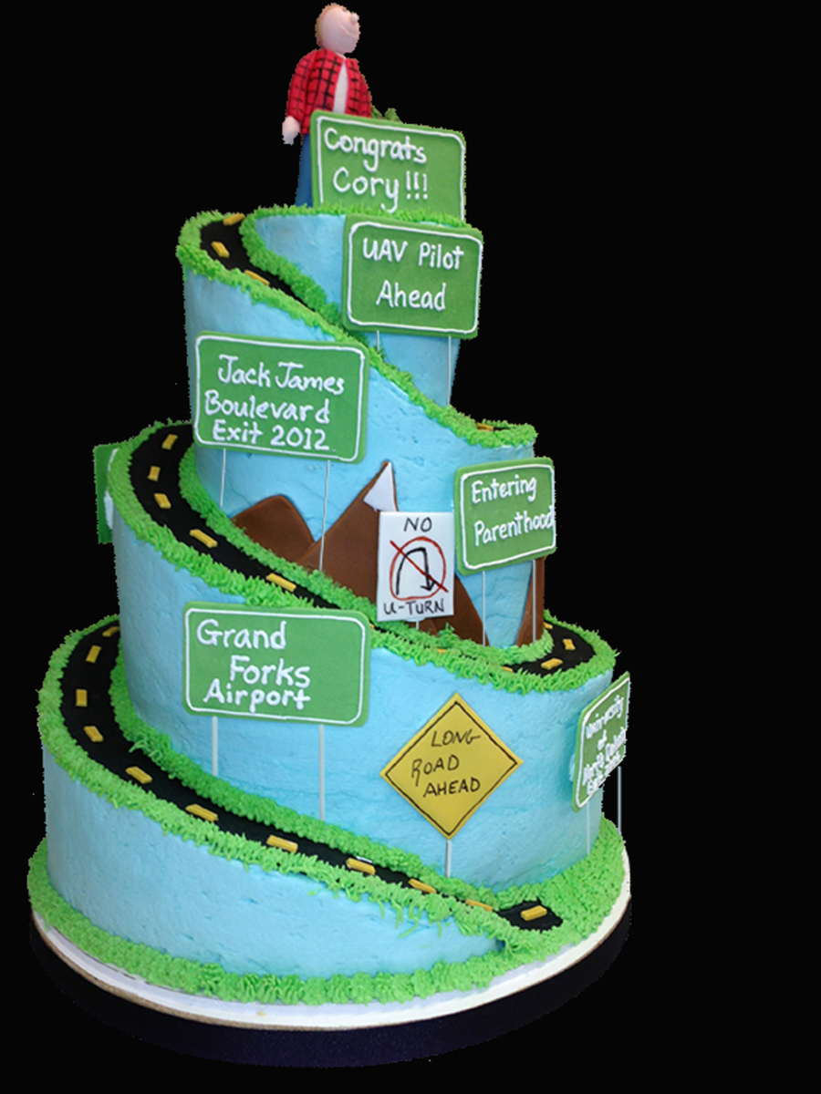 Long Road To Graduation Cakecentral Com