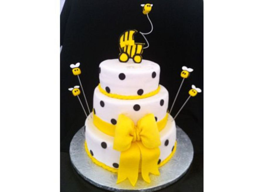Bumble Bee Baby Shower Cake on Cake Central