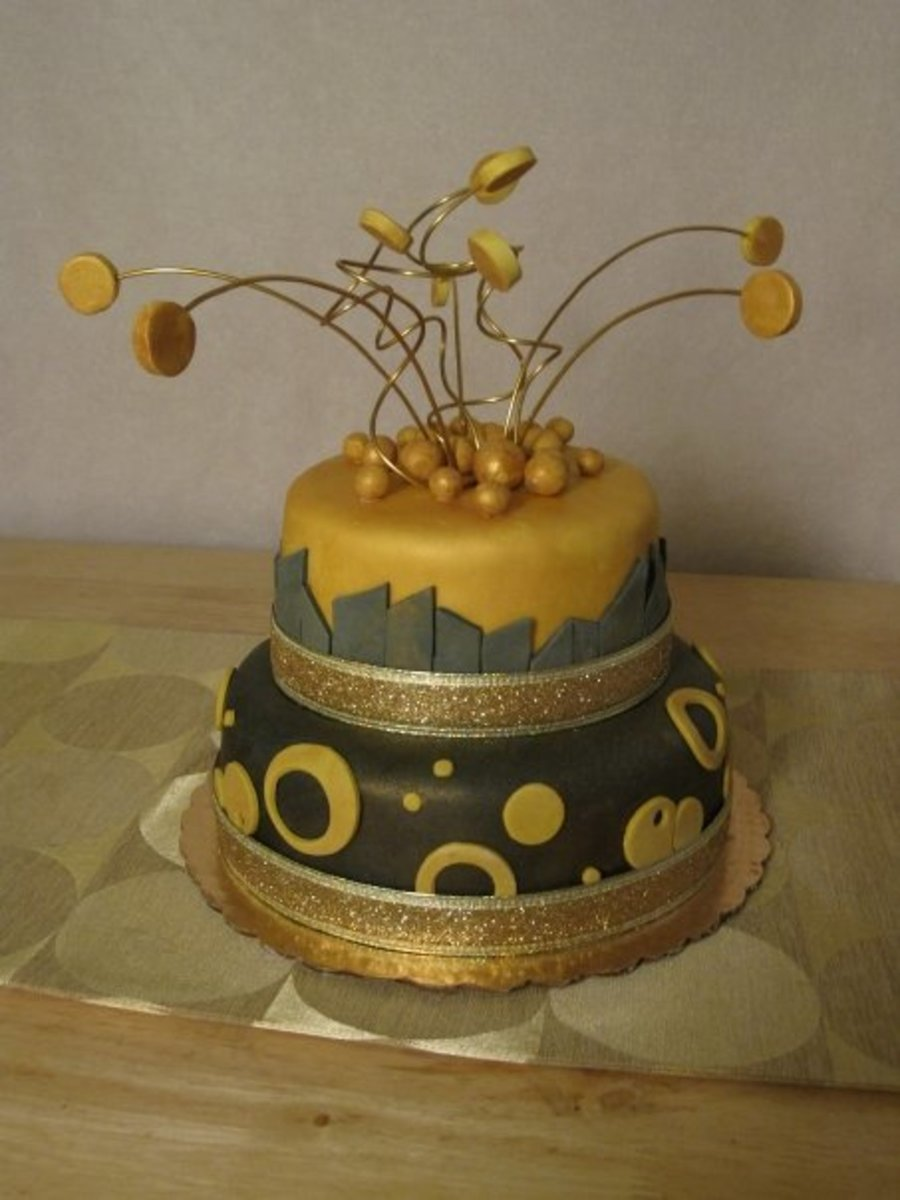 Golden Birthday on Cake Central