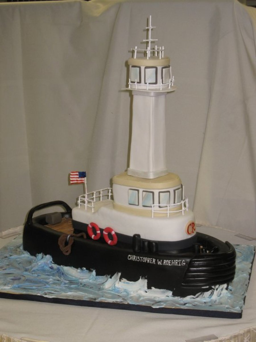 Tugboat on Cake Central