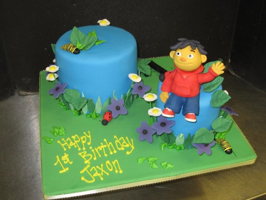 Sid The Science Kid on Cake Central
