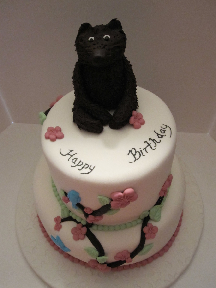 Outstanding Ms Grizz Birthday Cake Cakecentral Com Personalised Birthday Cards Paralily Jamesorg