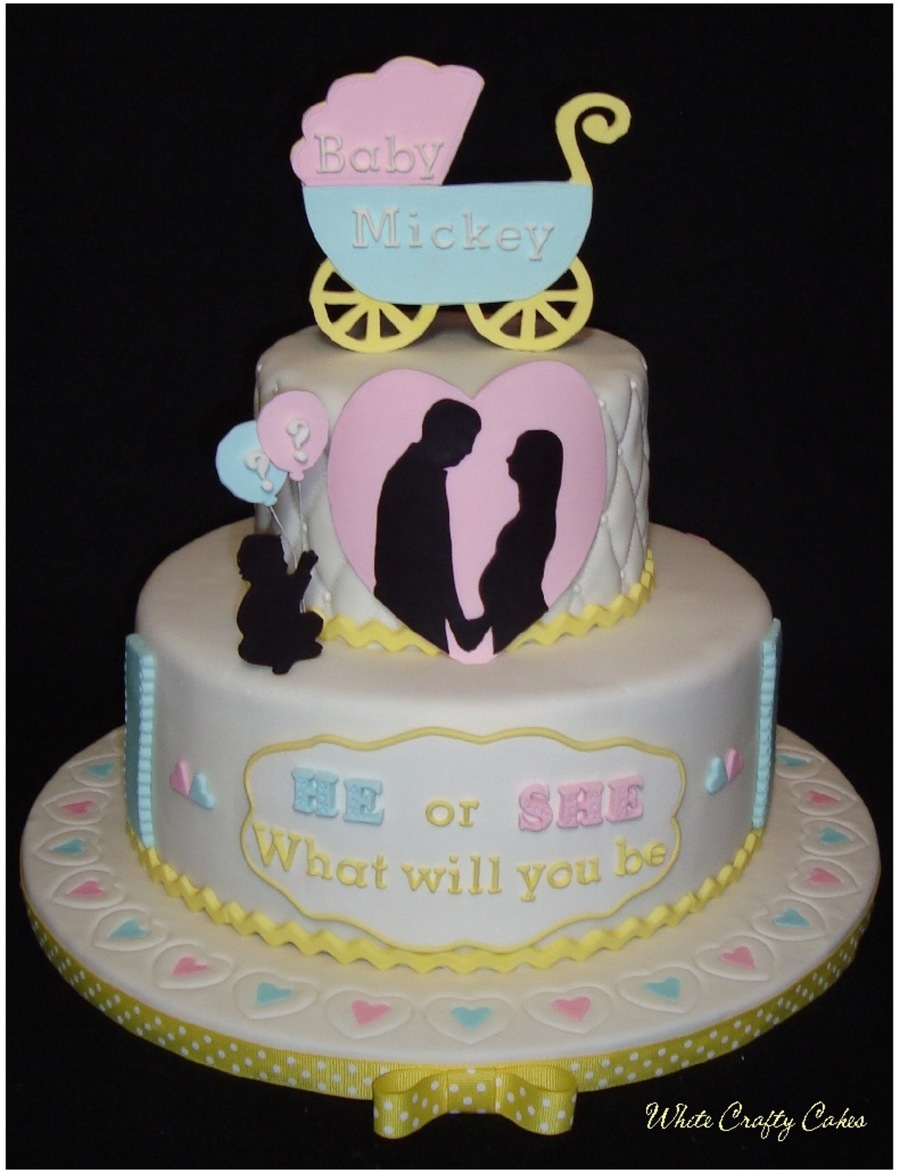 Unique Baby Gender Reveal Cake Ideas