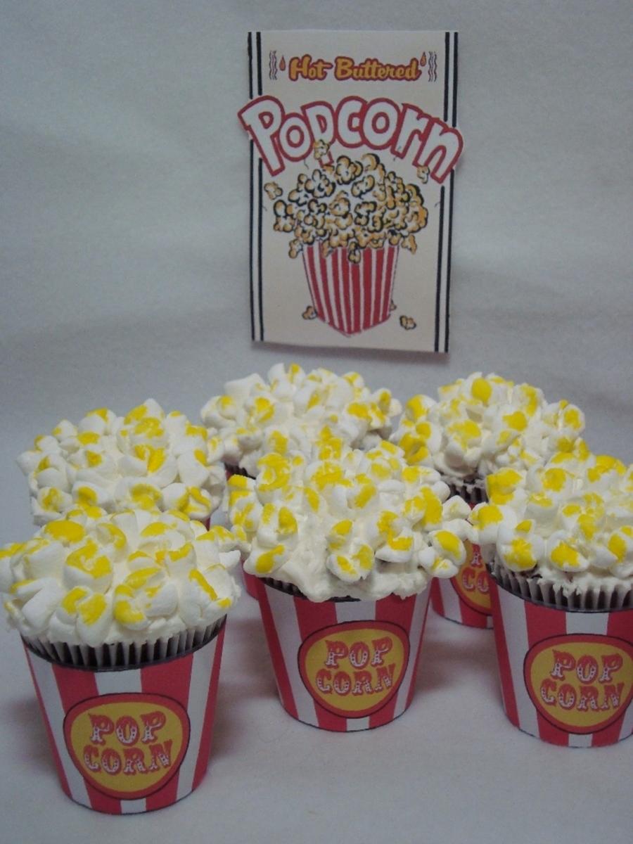 Carnival Cupcakes Popcorn Goldfish Ice Cream Cones