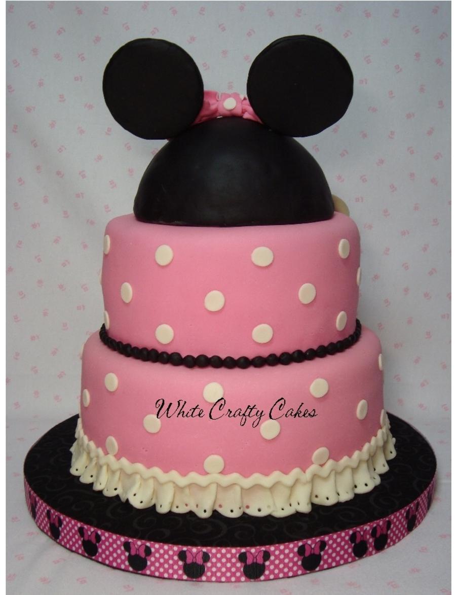 Minnie Mouse Cake Cakecentral Com