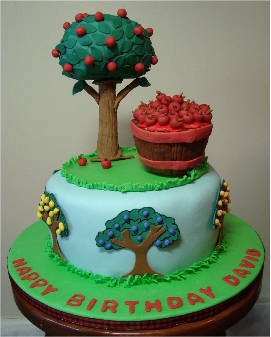 Orchard Birthday Cake Cakecentral