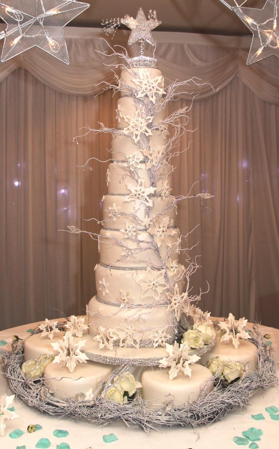 Winter Wedding Cake Cakecentral Com