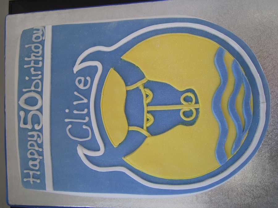 Oxford United on Cake Central