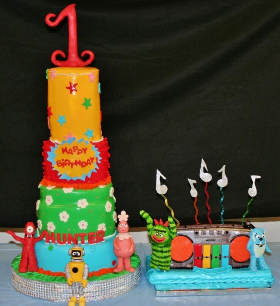 Yo Gabba Gabba Cake! - CakeCentral.com