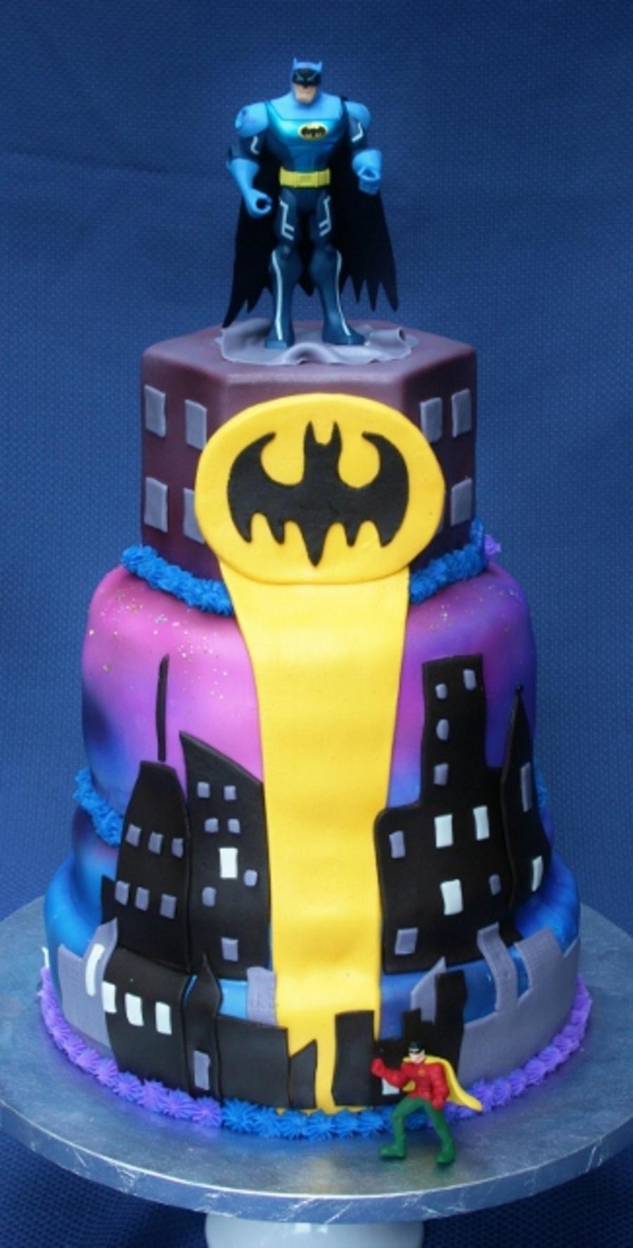 Batman Birthday Cake Recipe