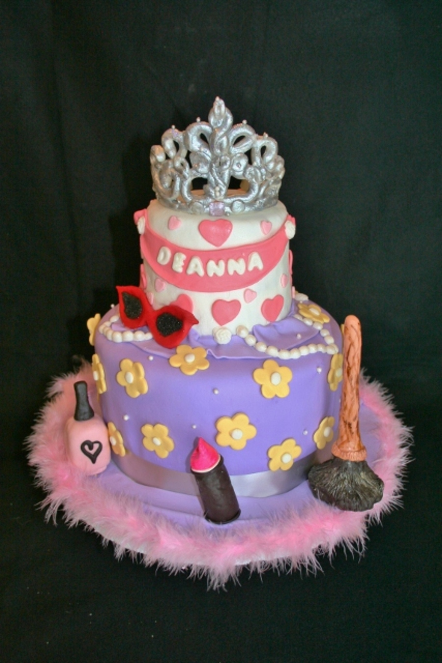 Incredible Fancy Nancy Birthday Cake Cakecentral Com Funny Birthday Cards Online Barepcheapnameinfo