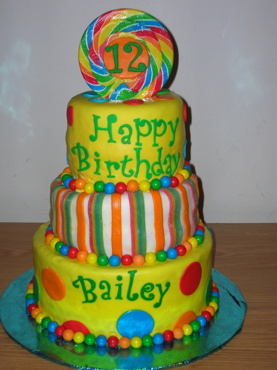 12th Birthday Cake Cakecentral