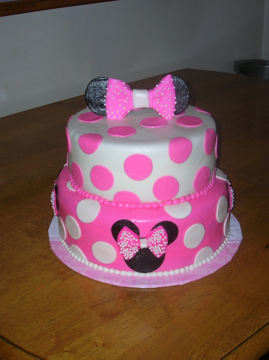 Minnie Mouse Baby Shower on Cake Central