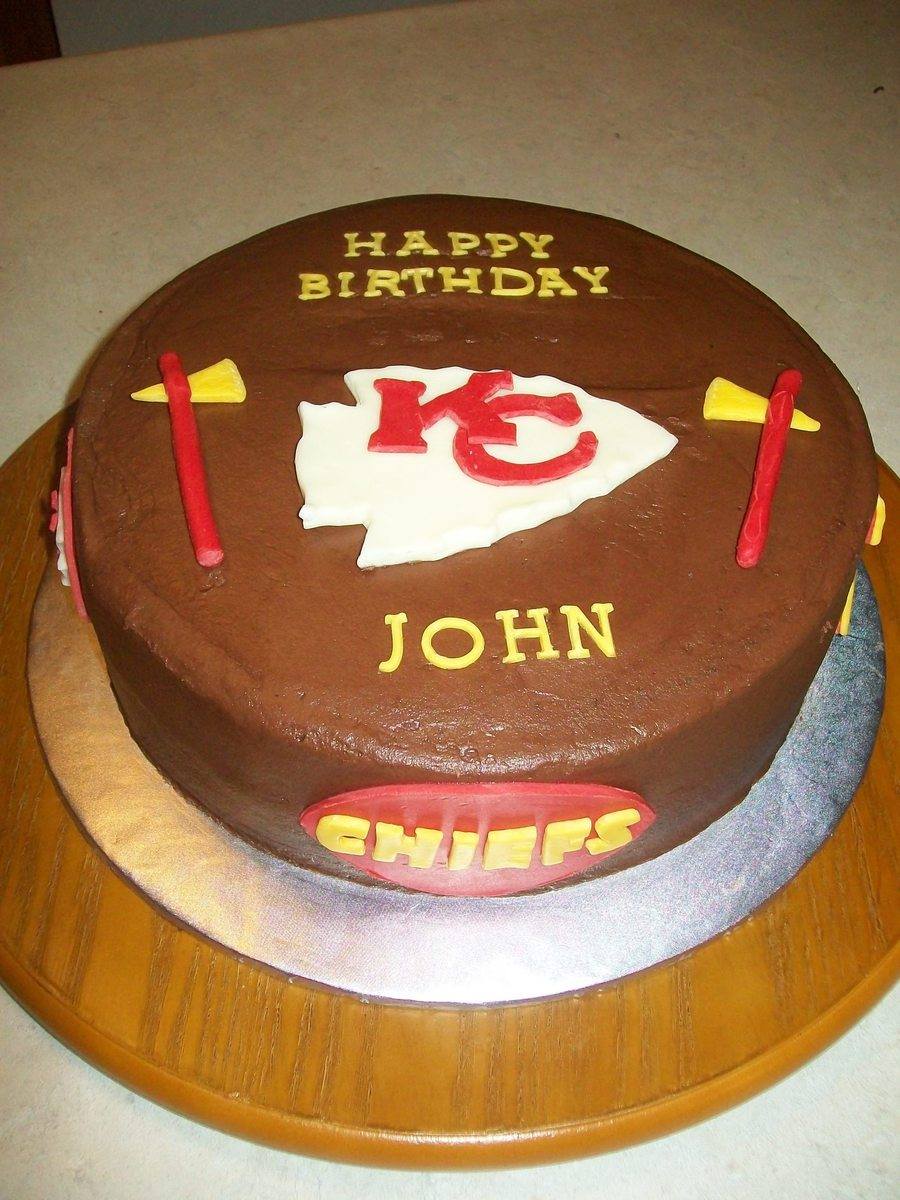 Chiefs on Cake Central