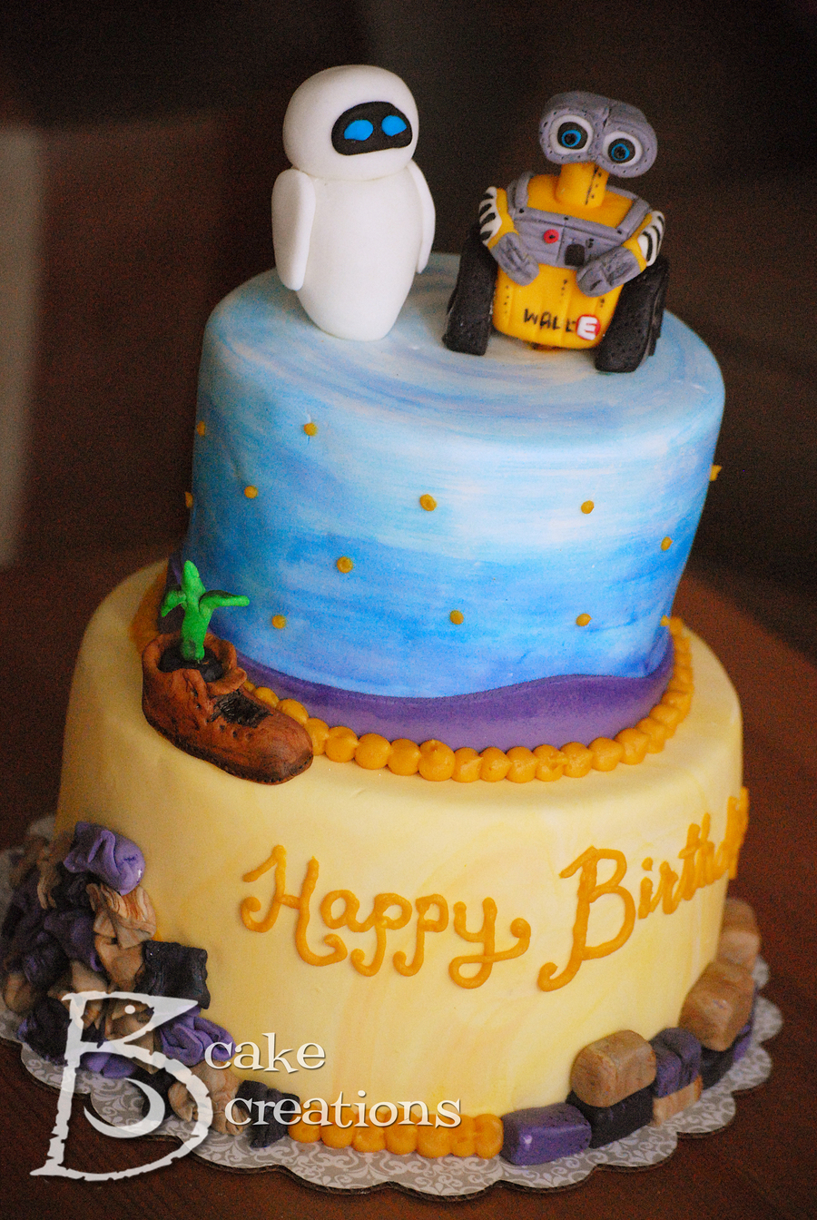 Wall E Cake On Central