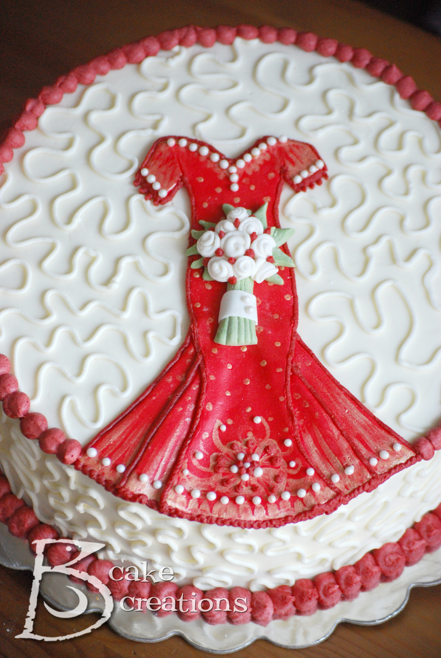indian bridal shower cake on cake central