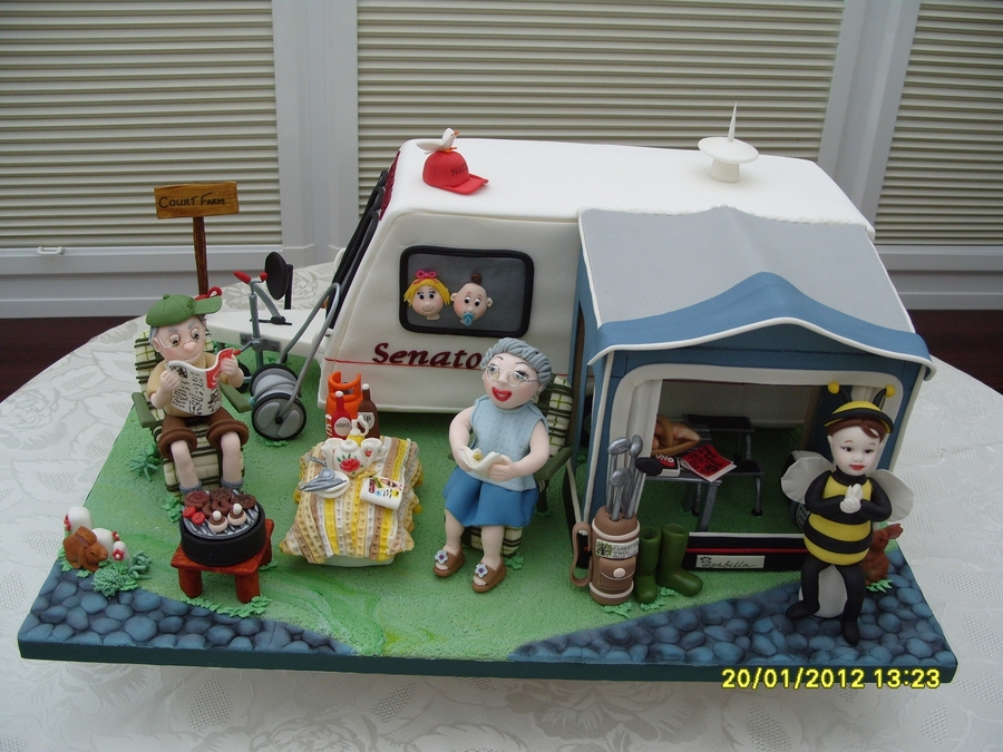 Happy Birthday Caravan Cakes
