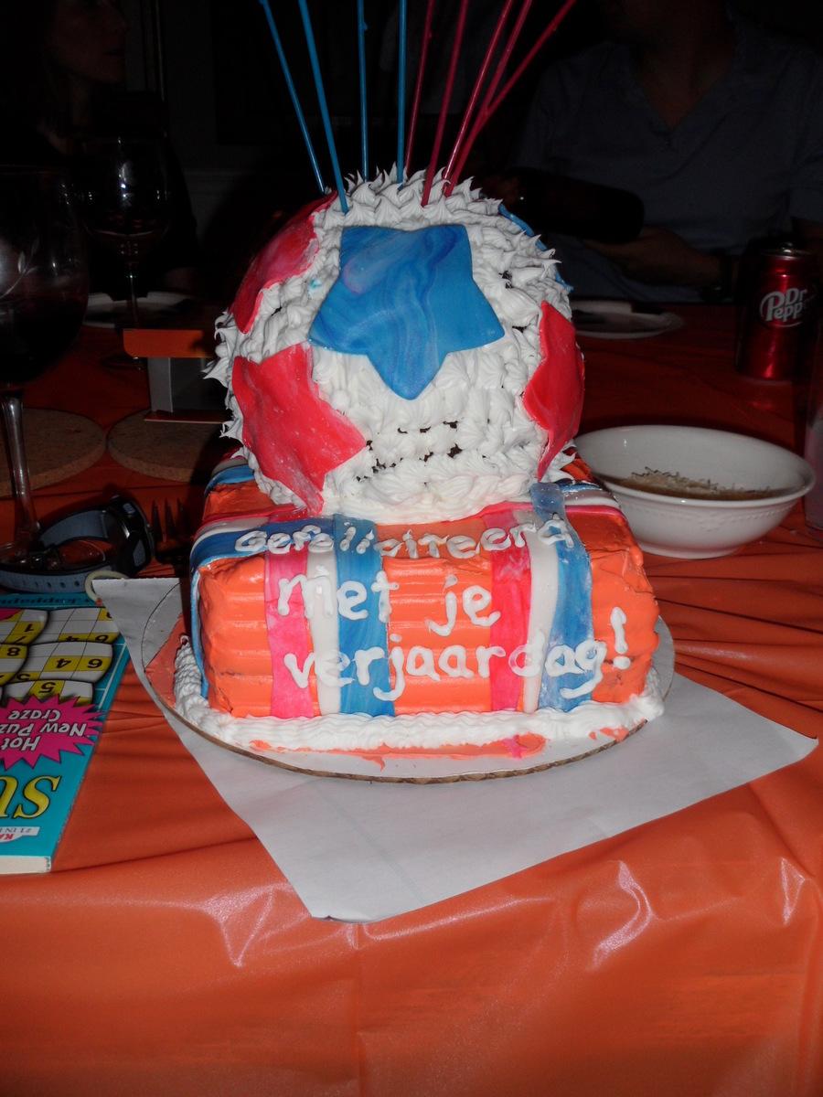 Dutch Soccer Birthday Cake Cakecentral