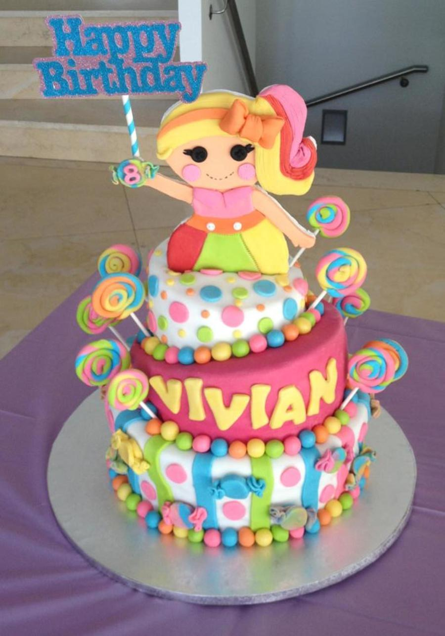 Lalaloopsy Candy Themed Birthday Cake On Central