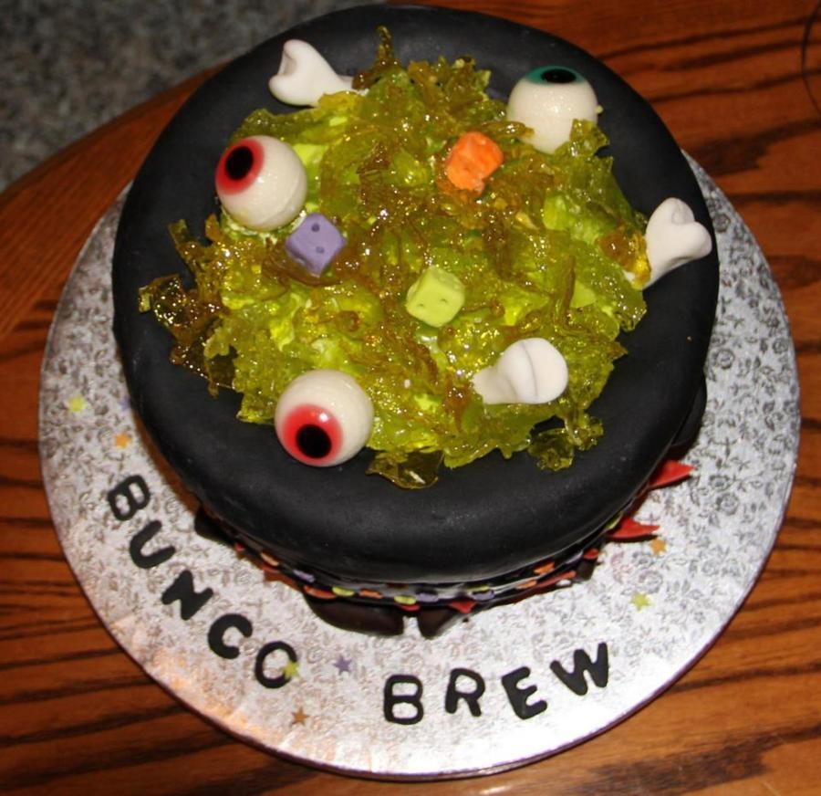 Bubbling Cauldron Cake Recipe