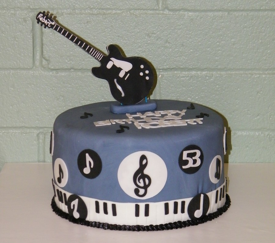 Blues Cake CakeCentralcom