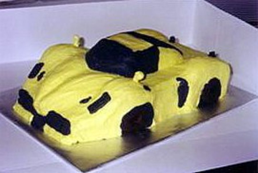 Sports Car Cake on Cake Central