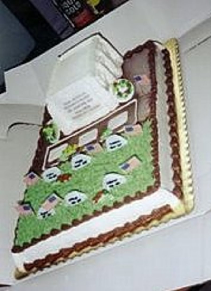 Tomb Of The Unknown Soldier on Cake Central