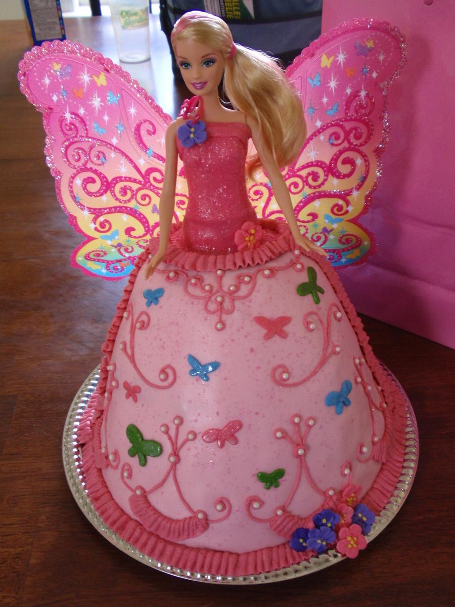 Cake Decorating Barbie Cake Recipes : Barbie Cake - CakeCentral.com