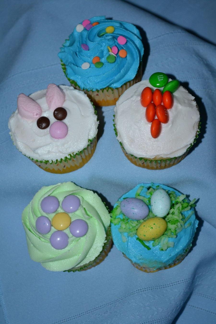 Easter Cupcakes on Cake Central