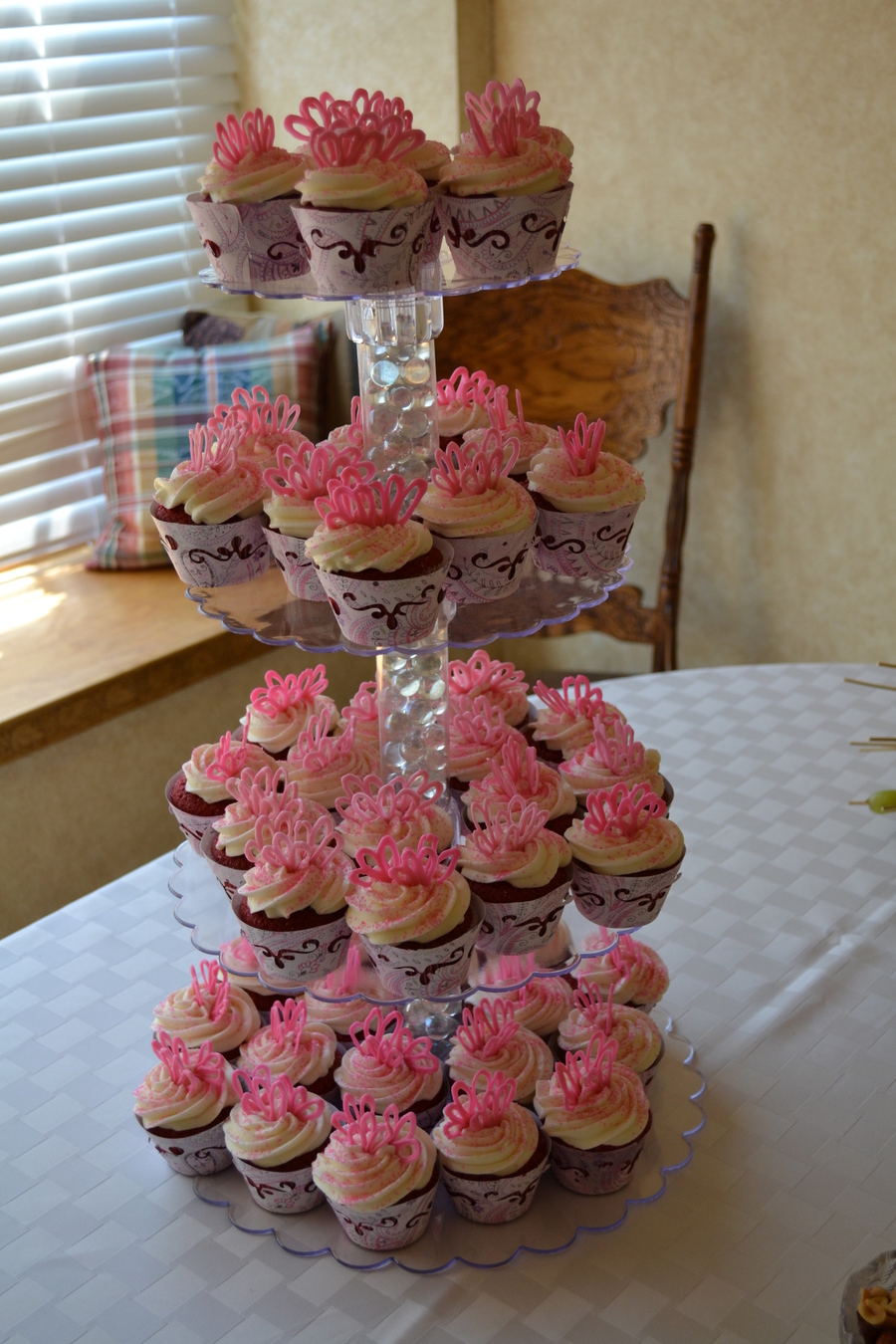 bridal shower cupcake tower on cake central