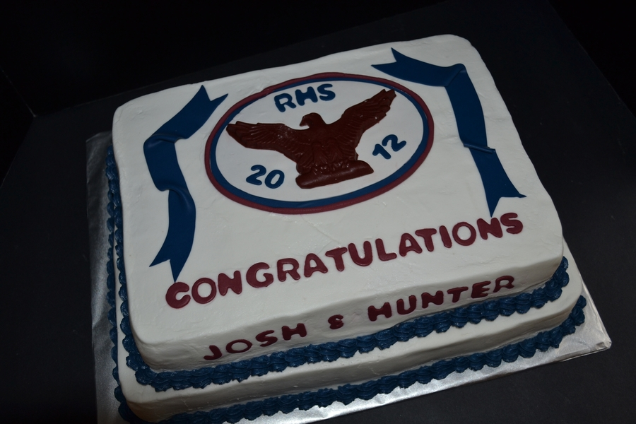 Rhs Graduation Cake on Cake Central